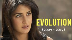 Katrina Kaif Evolution 2003 – 2017